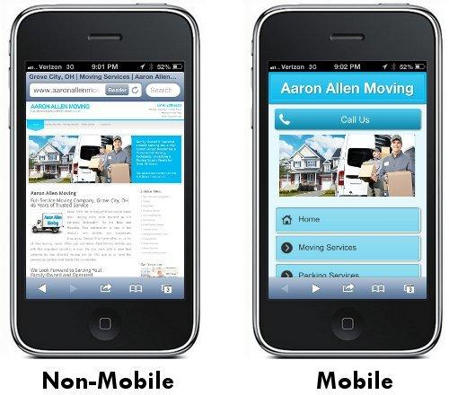 make your website mobile friendly.