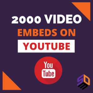 Video embeds: backlink